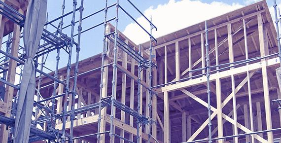 建築工事の施工実績